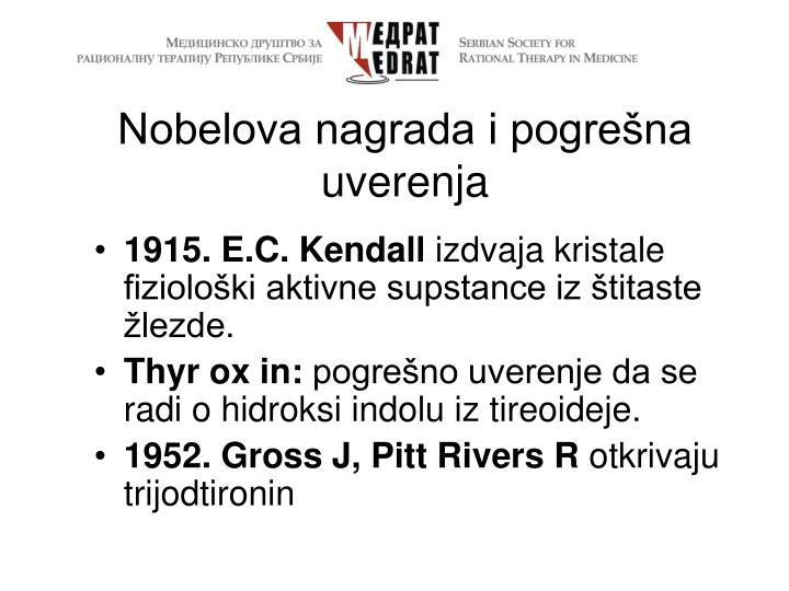 Nobelova nagrada i pogrešna uverenja