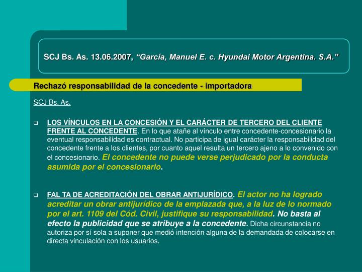SCJ Bs. As. 13.06.2007,