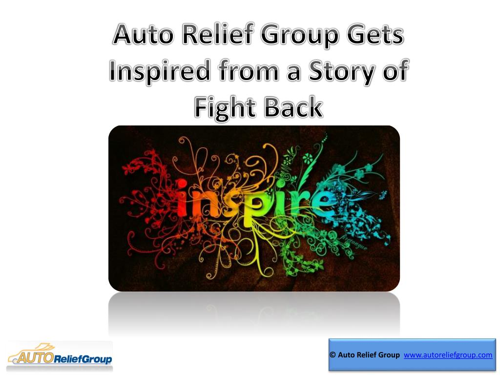 Auto Relief Group Gets Inspired from a Story of