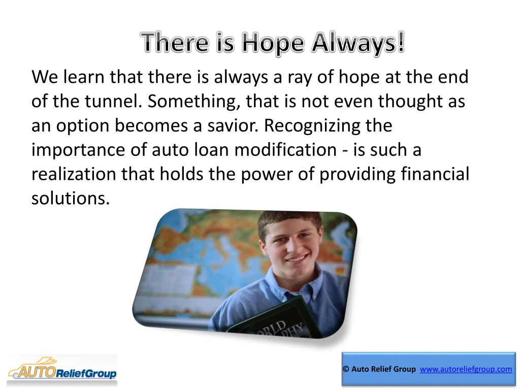 There is Hope Always!
