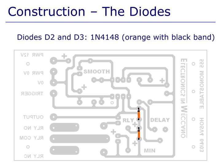 Construction – The Diodes