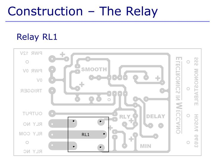 Construction – The Relay