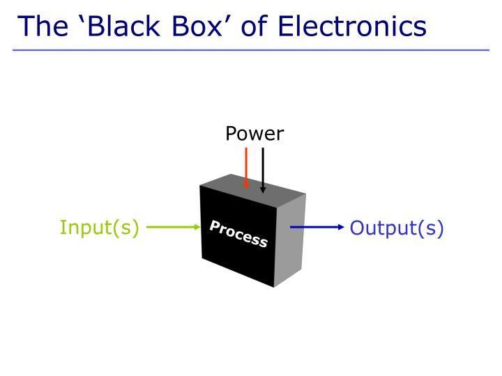 The 'Black Box' of Electronics