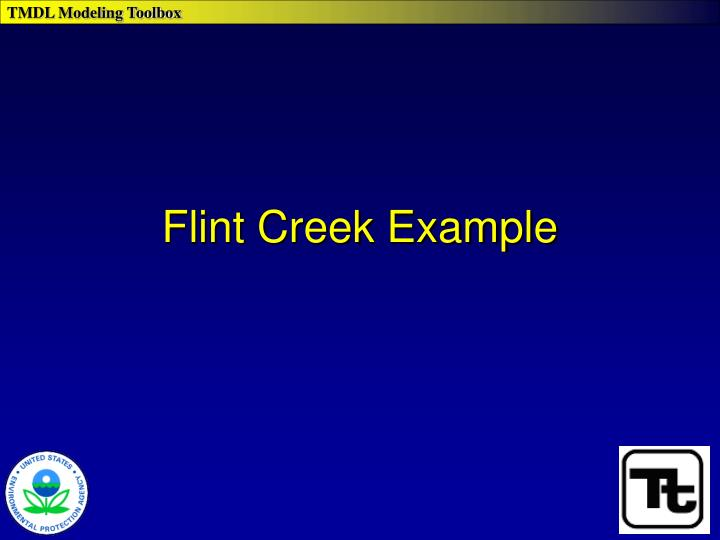 Flint Creek Example