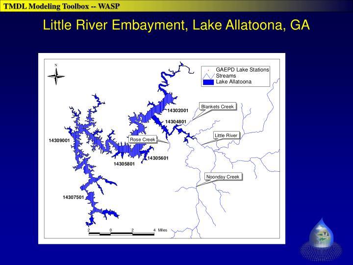 Little River Embayment, Lake Allatoona, GA