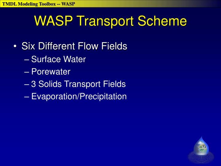 WASP Transport Scheme