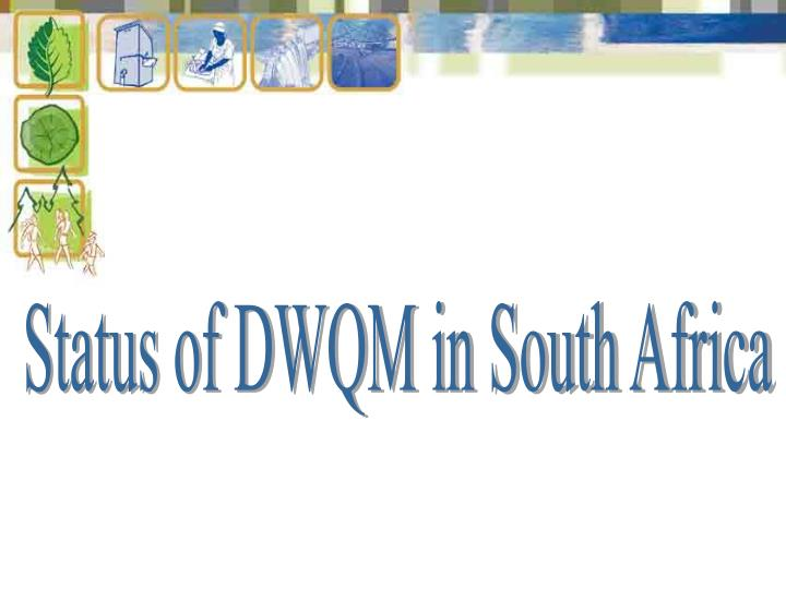 Status of DWQM in South Africa