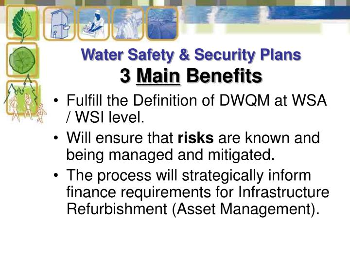 Water Safety & Security Plans