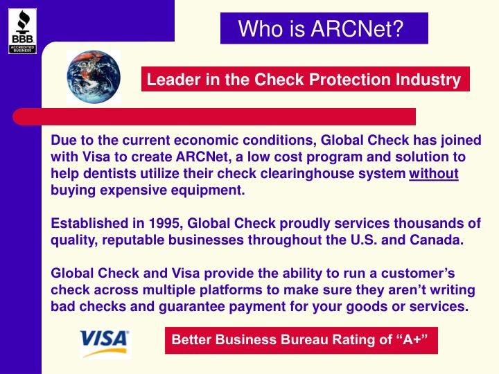 Who is ARCNet?