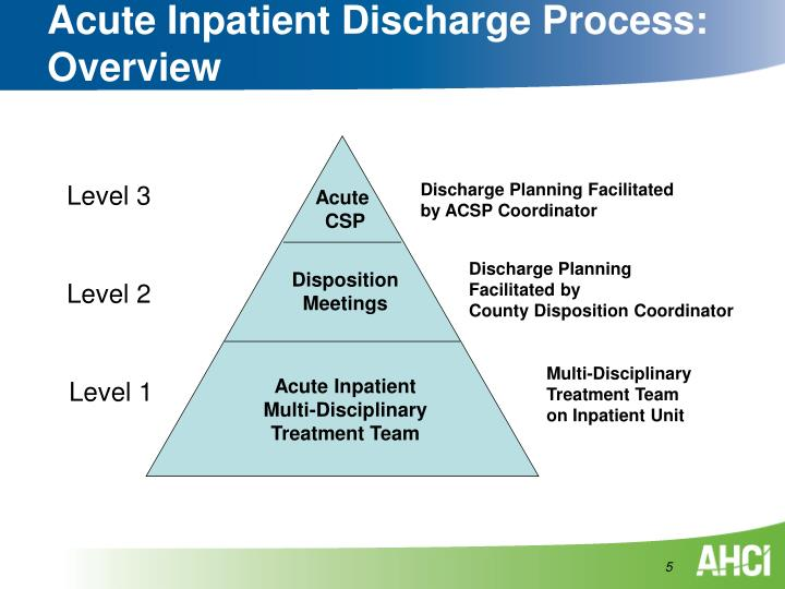 Acute Inpatient Discharge Process: Overview