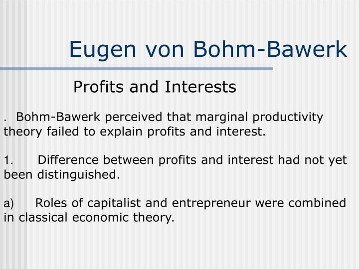Eugen von Bohm-Bawerk