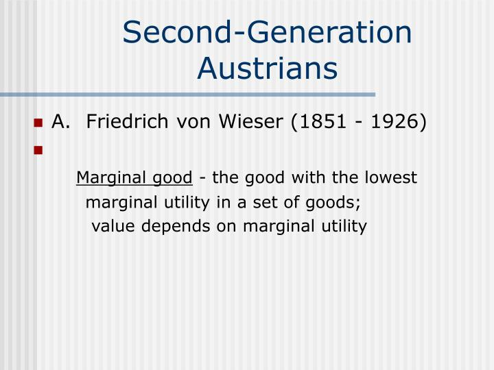 Second-Generation Austrians