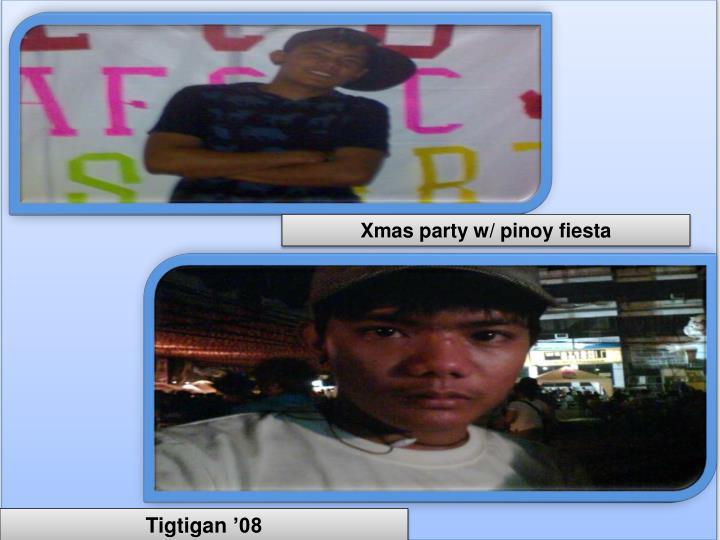 Xmas party w/