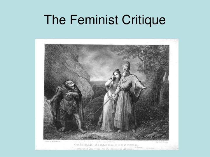 The Feminist Critique