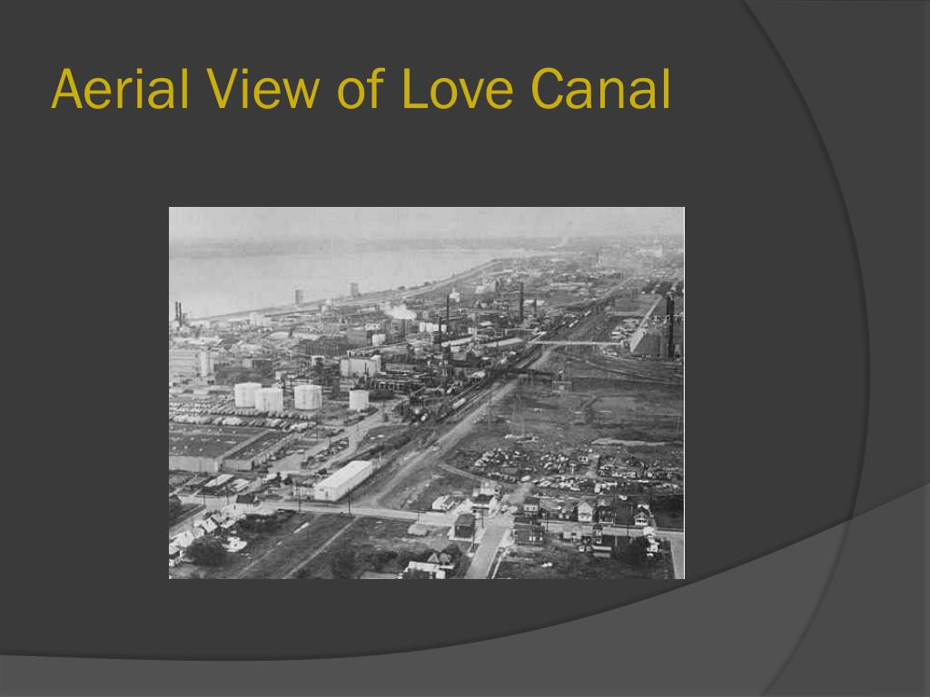 Aerial View of Love Canal