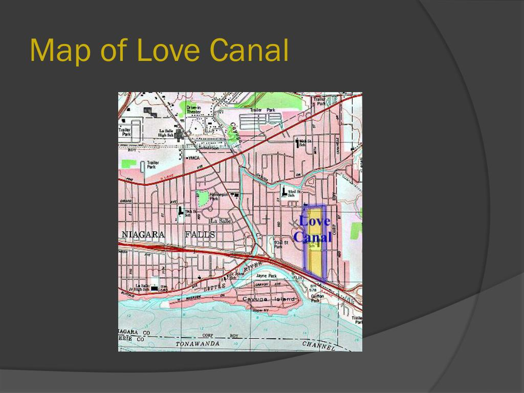 Map of Love Canal