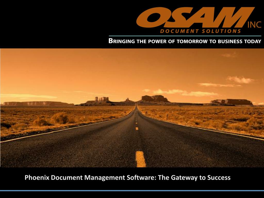 Phoenix Document Management Software: The Gateway to Success