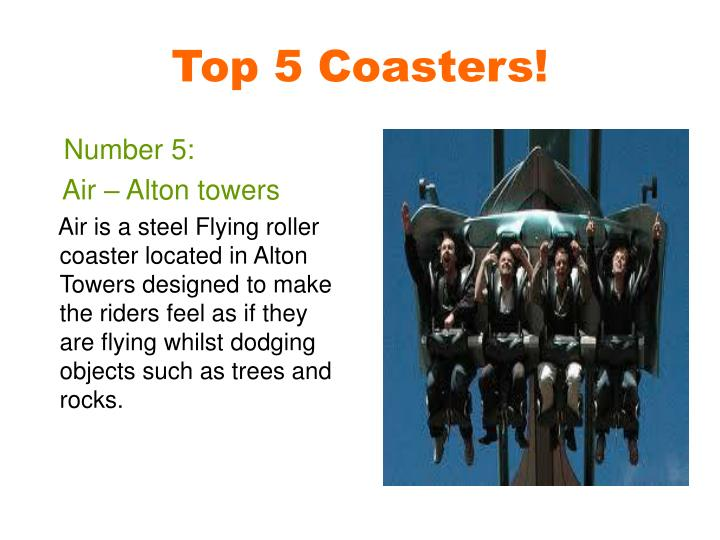 Top 5 Coasters!