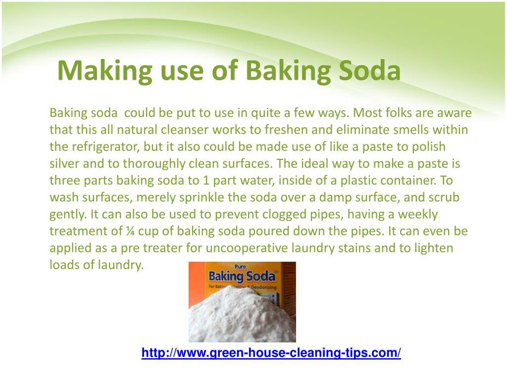Making use of Baking Soda