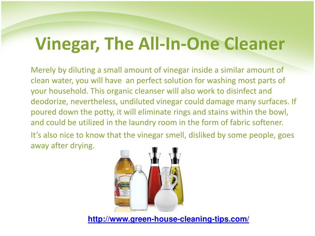 Vinegar, The All-In-One Cleaner