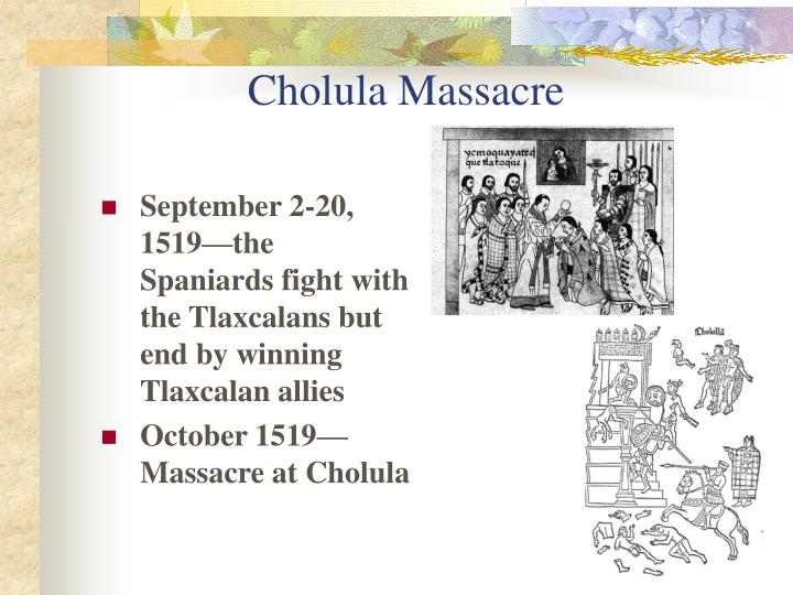 Cholula Massacre