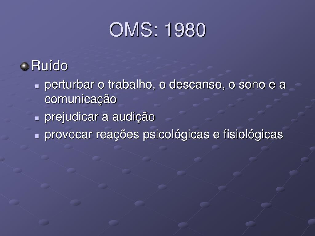 OMS: 1980