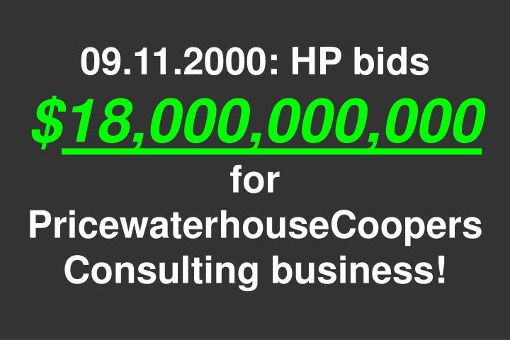 09.11.2000: HP bids