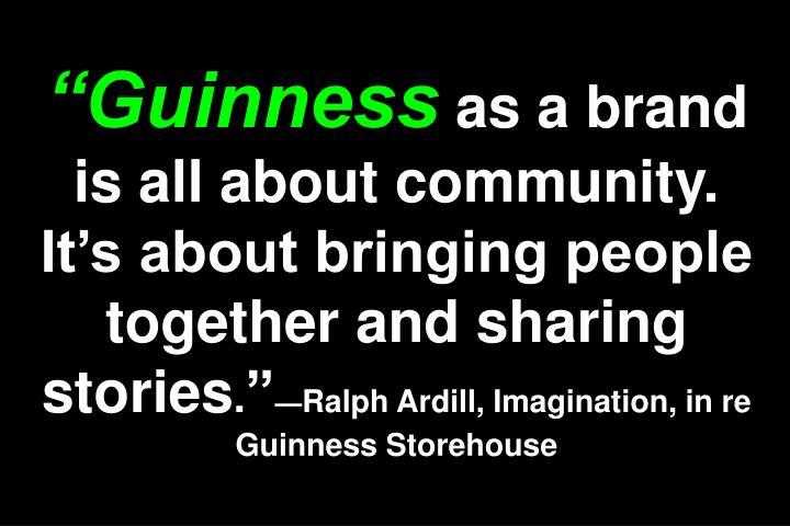 """""""Guinness"""
