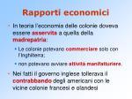 rapporti economici