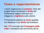 tasse e rappresentanza