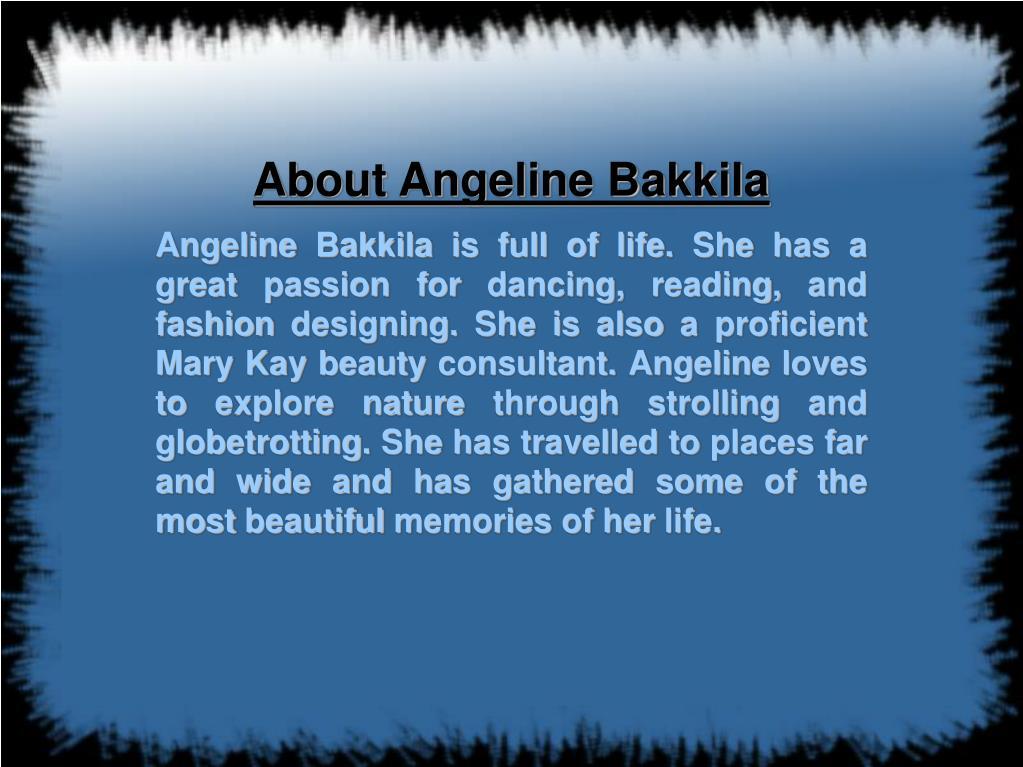 About Angeline Bakkila