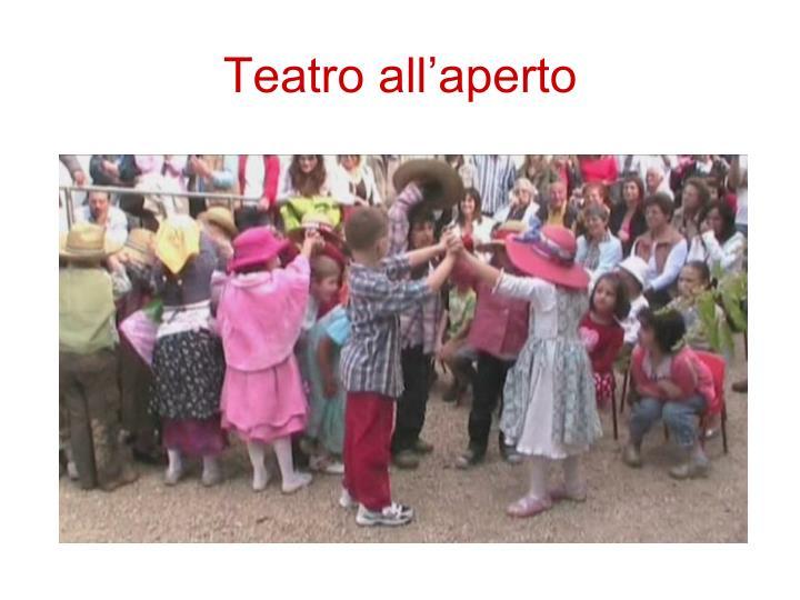 Teatro all'aperto
