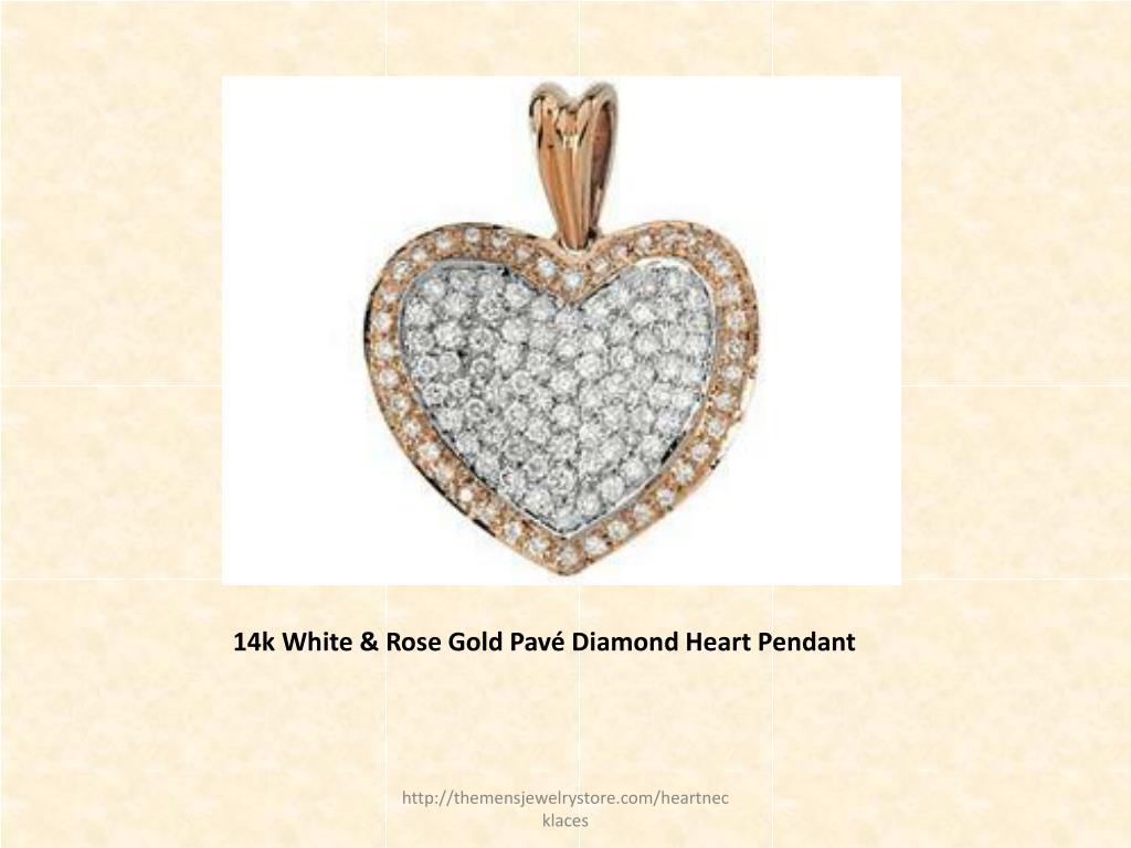 14k White & Rose Gold