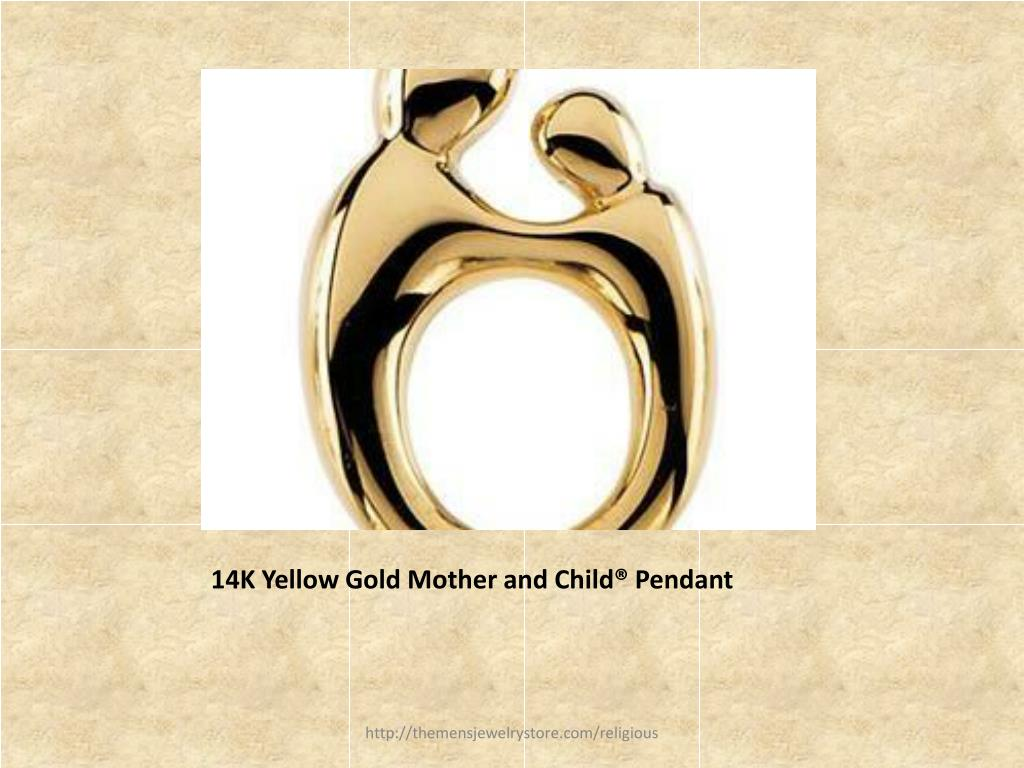 14K Yellow Gold Mother and Child® Pendant