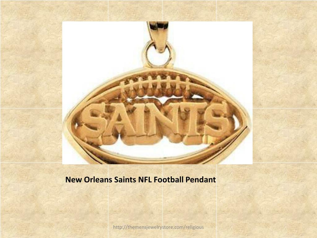 New Orleans Saints NFL Football Pendant