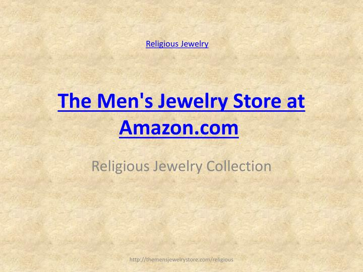 The men s jewelry store at amazon com