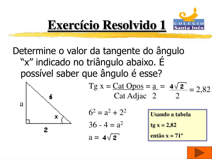 Exercício Resolvido 1