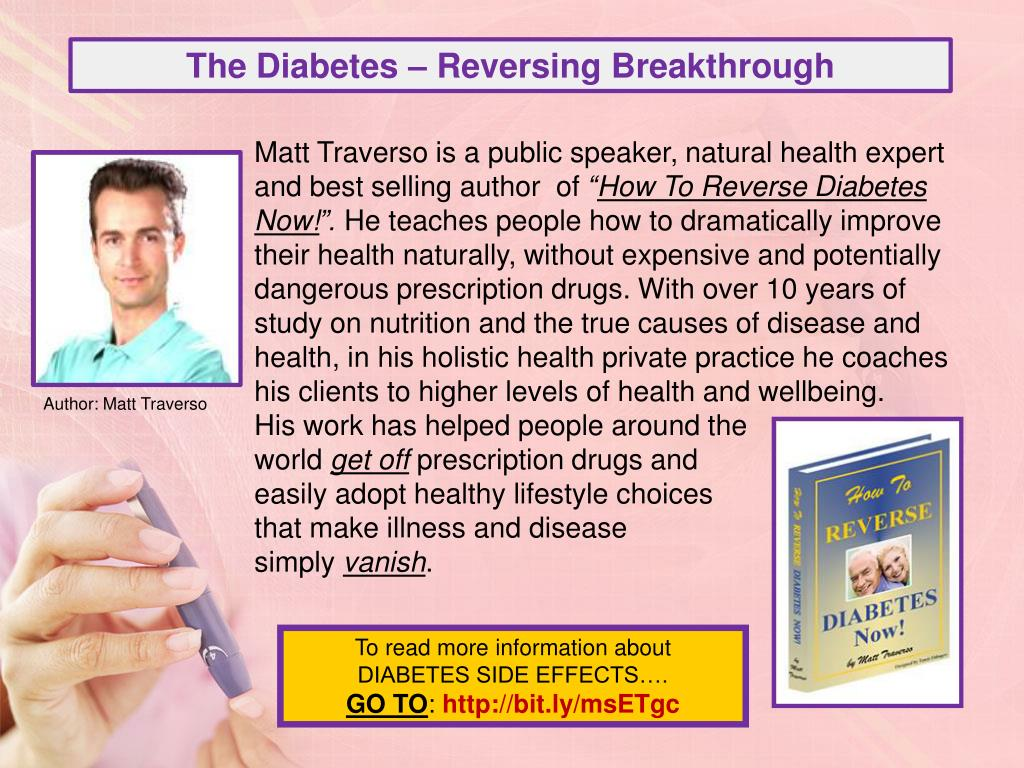 The Diabetes – Reversing Breakthrough