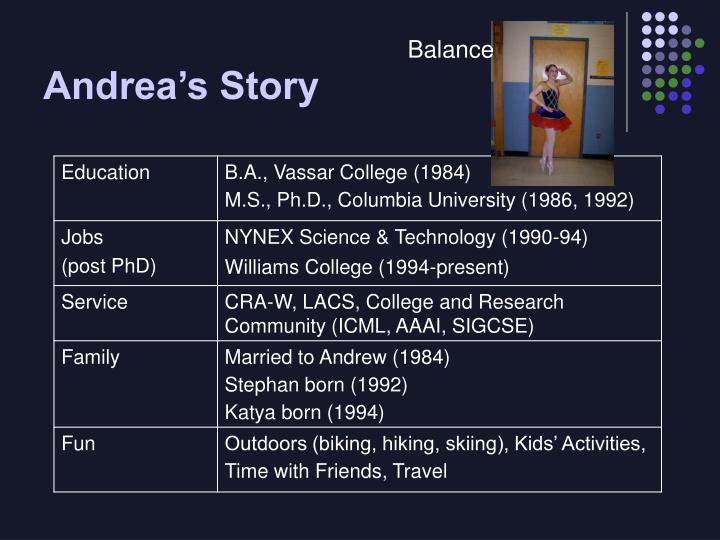 Andrea's Story