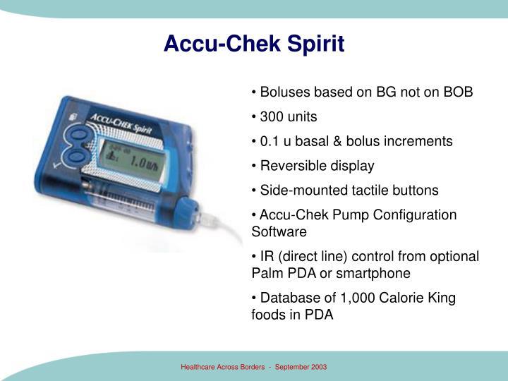 Accu-Chek Spirit