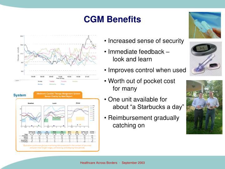 CGM Benefits
