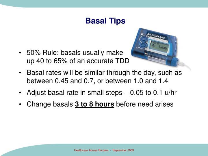 Basal Tips