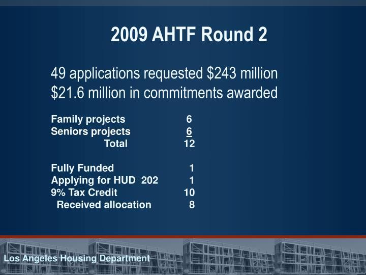 2009 AHTF Round 2