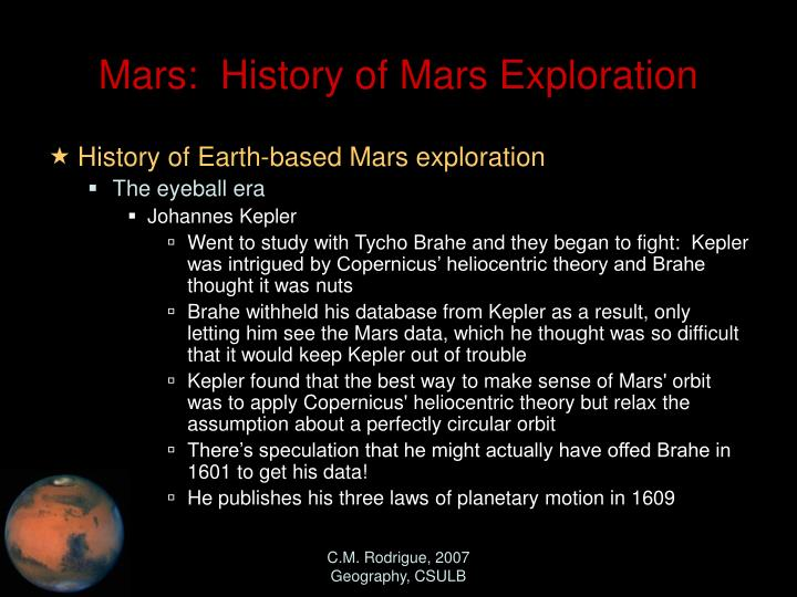 mars missions history - photo #22