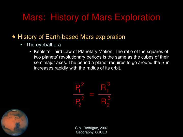 mars missions history - photo #9