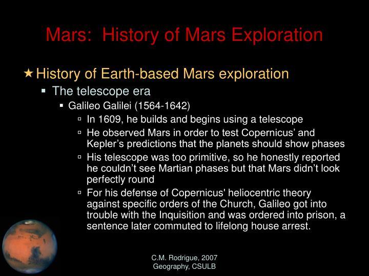 mars missions history - photo #14