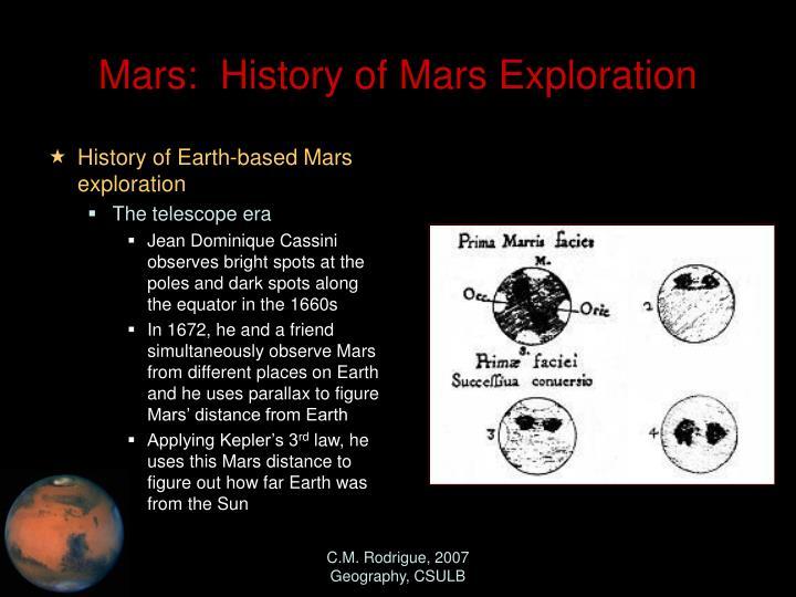 mars missions history - photo #10