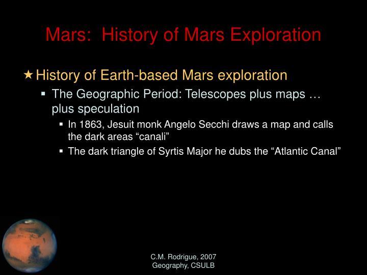 mars missions history - photo #26