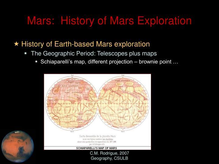 mars missions history - photo #20
