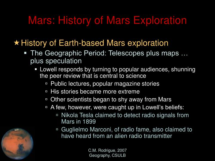 mars missions history - photo #24